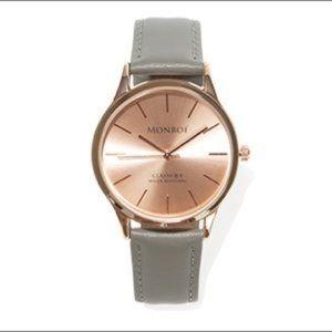 NWT Monroe Rose Gold Watch